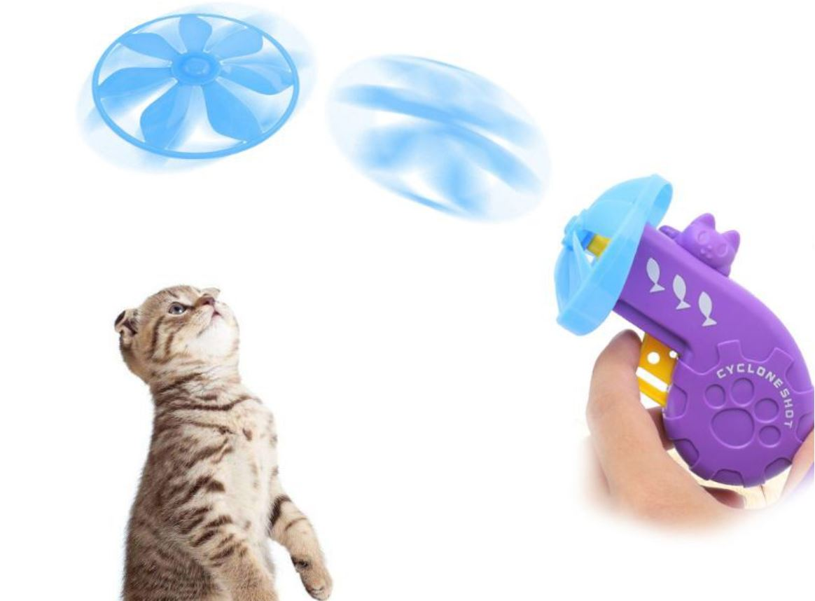 best flying toys for cats